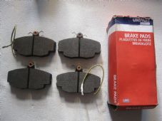 PEUGEOT 205 1.9 (Girling with servo) (1986-95) NEWBRAKE PADS - UNIPART GBP685AF